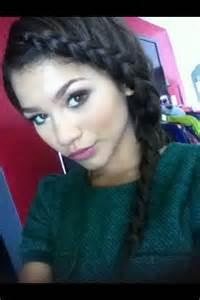 Zendaya French Braids Hairstyles