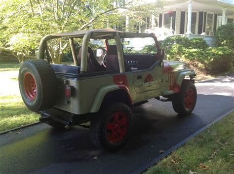 jurassic park jeep wrangler instructions find used 1995 jurassic park jeep wrangler in catonsville