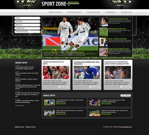 sports website themes templates  premium