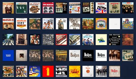 The Beatles Illustrated Uk Discography January 2010
