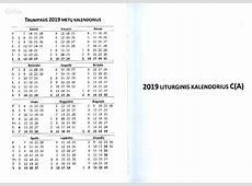 Kalendorius 2019 skelbimo ID58089574 Nuotraukos Aliolt