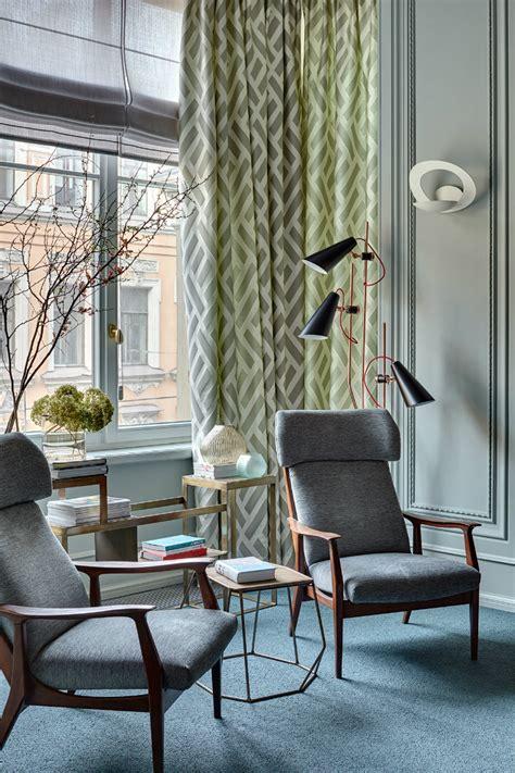 Midcentury Modern Apartment's Living Room Designs