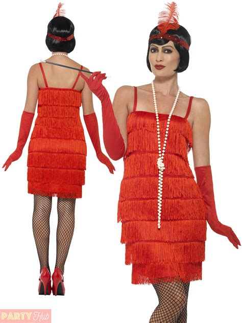 Ladies 1920s Flapper Costume Adults Gatsby Fancy Dress Womens Charleston Outfit | eBay