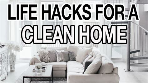 10 Life Hacks For A Clean + Organized House!  Youtube