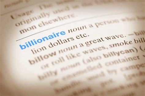 billionaire  characteristics