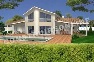 plan de maison en bardage bois nouveau sur le site With google vue des maisons 6 maison contemporaine avec bardage en bois noir