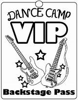 Dance Coloring Hop Hip Vip Rock Camp Word Passes Sheets Bright Idea Getcolorings Printable Dye Tie Colouring Popular Fantastical sketch template