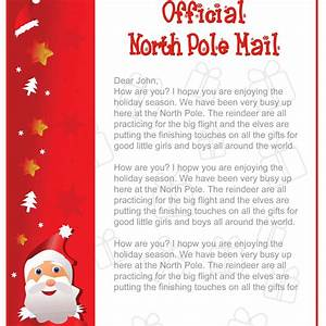 printable letters from santa free search results With childs letter to santa