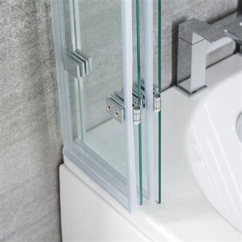 paradoccia per vasca pieghevole parete vasca da bagno pieghevole 1400 x 800mm portland