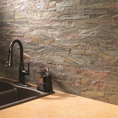 Self Adhesive Backsplash Kitchen Tile Panels Real Stone