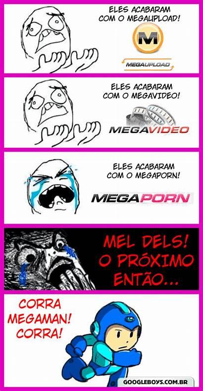 Megaman Memes Meme Corra Colinas Tirinhas Pra