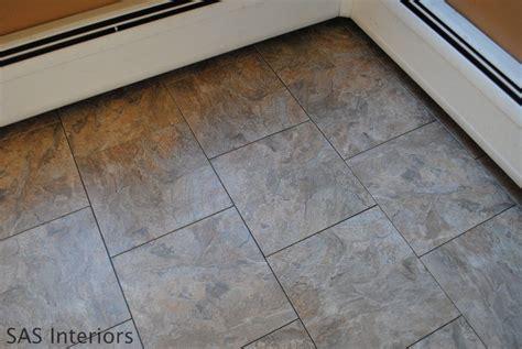 Groutable Vinyl Tile In Bathroom by How To Install Groutable Vinyl Floor Tile Subway