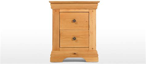 Bobs Furniture Review by Constance Oak 2 Drawer Bedside Cabinet Quercus Living