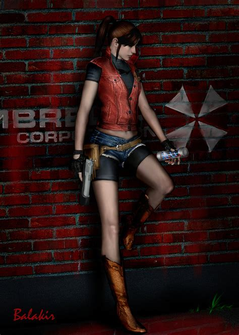 Claire Redfield By Balakir On Deviantart