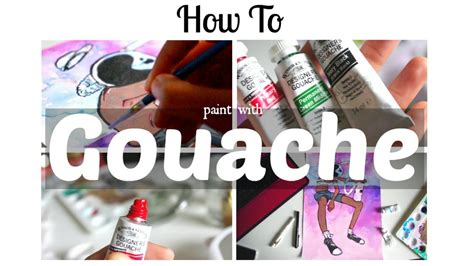 How To Paint With Gouache · Beginner's Tips & Walkthrou