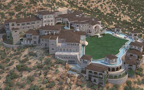 100,000 Square Foot Unfinished Scottsdale, Az Mega Mansion