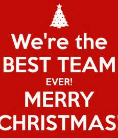 we re the best team ever merry christmas poster joana mendes keep calm o matic