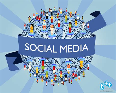 Digital Social Media Wallpaper by Social Media Wallpaper Wallpapersafari