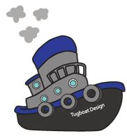 Tugboat Cartoon Name by Tugboat Design About Tugboat Design Book Cover
