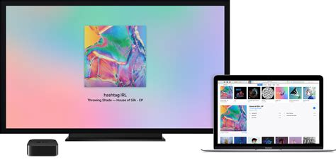 tv and computer use airplay to stream content from itunes on your computer