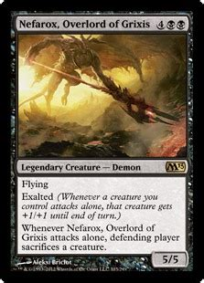 Magic The Gathering Exalted Deck 2013 by Nefarox Overlord Of Grixis Magic 2013 Gatherer