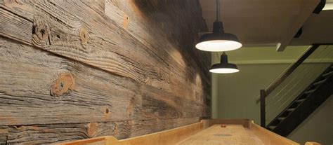 milled barnwood paneling interior wall paneling elmwood reclaimed timber
