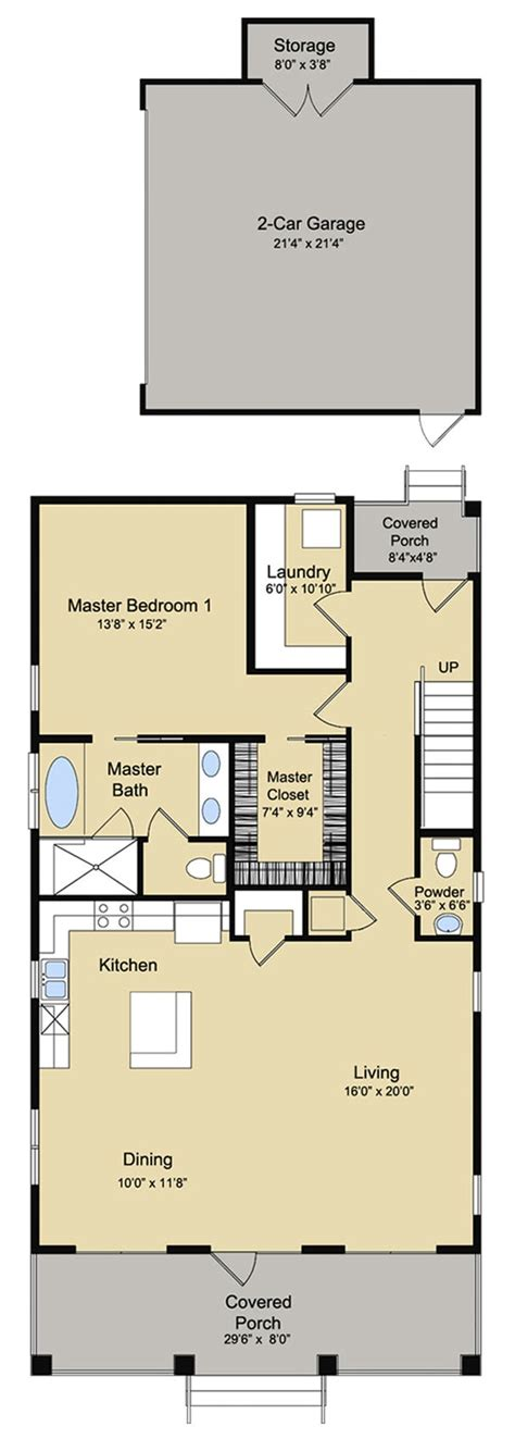 Coastal House Plan #1421125 4 Bedrm, 2888 Sq Ft Home