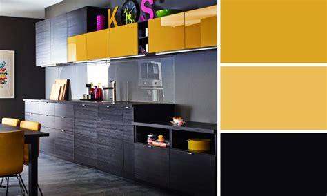 cuisine jaune et gris quelles couleurs se marient bien entre elles