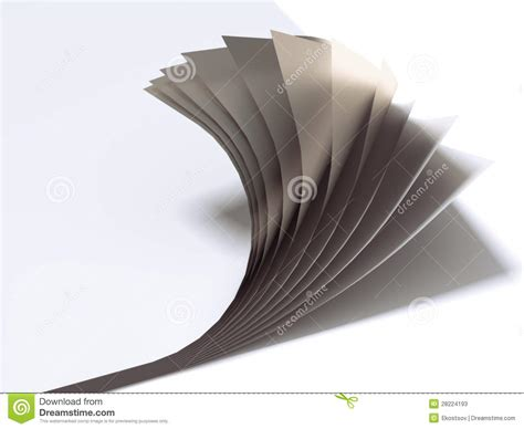 close   paper sheets stock  image