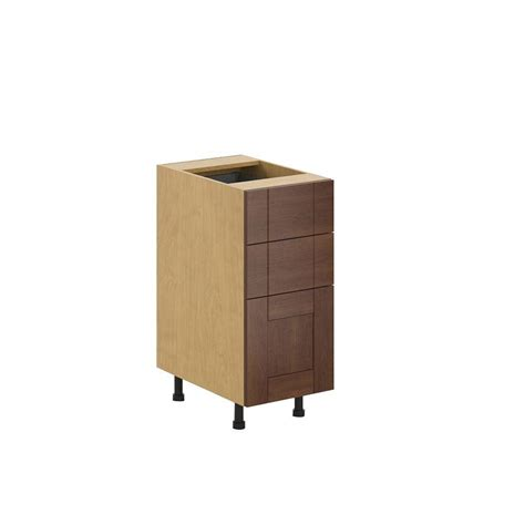 cabinet lyon 3 fabritec ready to assemble 15x34 5x24 5 in lyon 3 drawer base cabinet in maple melamine and
