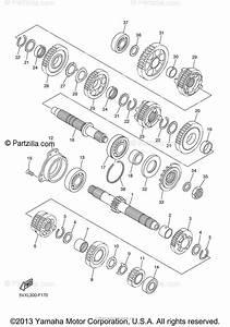 Yamaha Motorcycle 2008 Oem Parts Diagram For Transmission