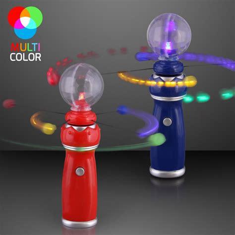 light up wand toy flashlight toys led light up magic wand with music crystal