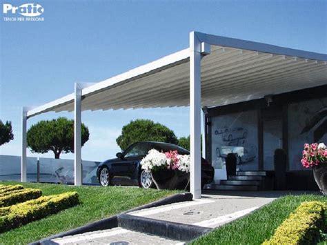 tettoie scorrevoli tettoie per auto in alluminio ferro legno coperture automobili