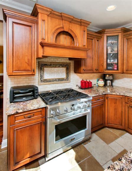traditional wood cabinets matawan  jersey  design  kitchens