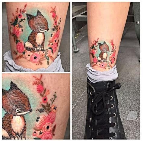 awesome cross stitch tattoos