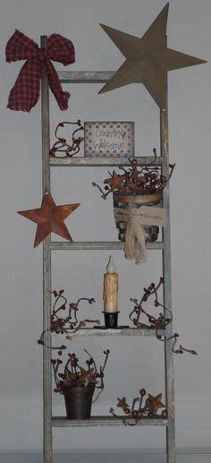 images  primitive ladder ideas  pinterest