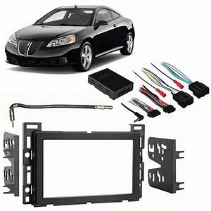 Pontiac G6 2009 Double Din Aftermarket Stereo Harness
