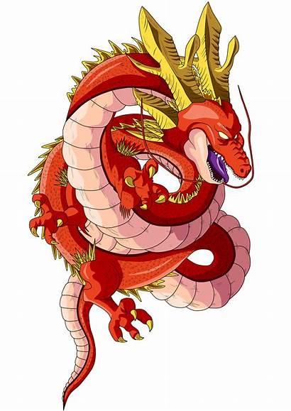 Shenron Star Dragon Clipart Ball Transparent Goku