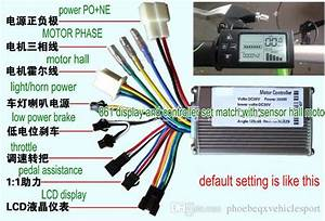 2019 24v36v48v250w350w Controller  U0026 Lcd Display 861 Manual