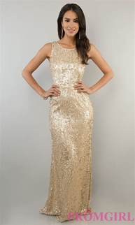bridesmaid dresses gold sleeveless sequin gown sequin prom dress promgirl