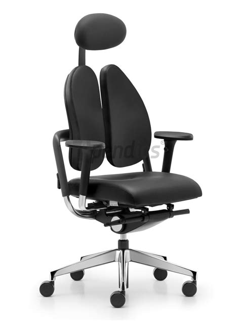 Grahl Duo Back Chair by Rohde Grahl Xenium Duo Back 174 Leder Mit Kopfst 252 Tze
