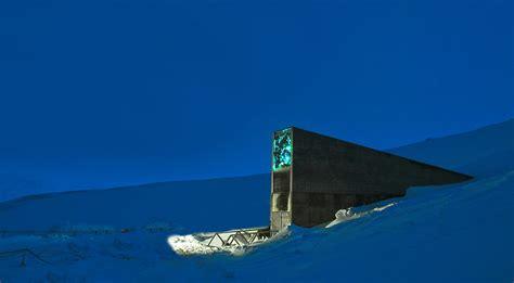 spitsbergen seed vault svalbard global seed vault glamox