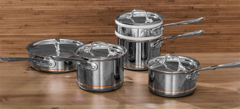copper core stainless steel cookware  effortless cooking