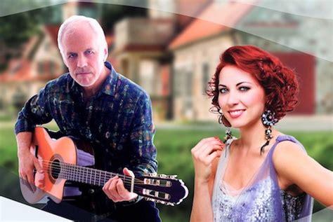 Aivara Hermaņa un Aijas Vītoliņas koncerts Rankas muižas dārzā