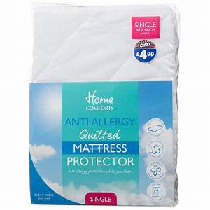 bm anti allergy mattress protector single 261938 bm With best mattress protector for allergies