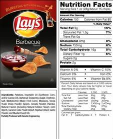 lays potato chips nutrition label Car Tuning
