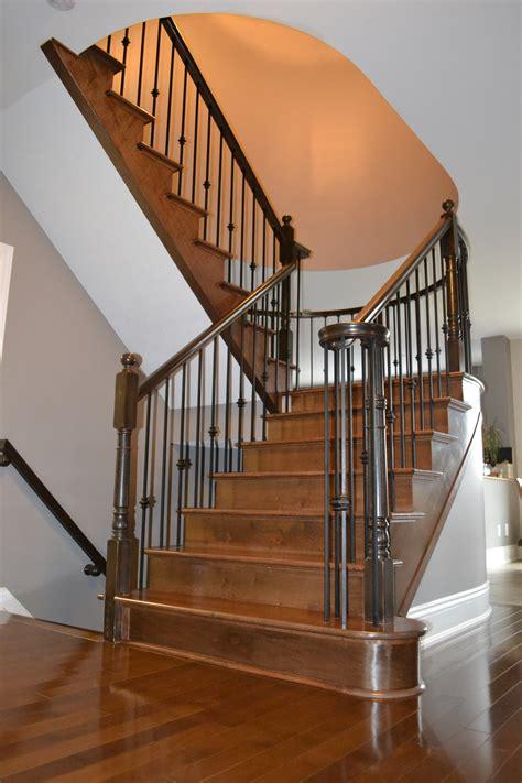 stairs  railings hardwood flooring  staircase
