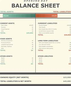 Download Opening Day Balance Sheet Template for Free ...