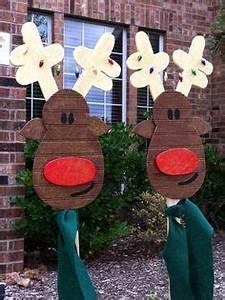 diy outdoor christmas decorations on Pinterest