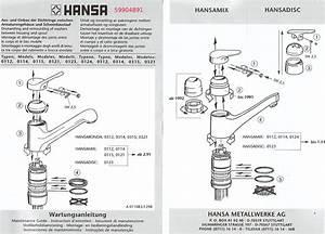 Kartusche Wasserhahn Auswechseln : hansa armaturen reparaturanleitung kleskab skuffe ~ Lizthompson.info Haus und Dekorationen